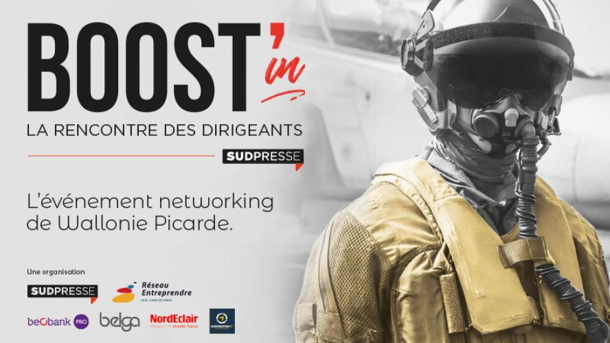Boost'in Wallonie Picarde : le 11 mars le networking de votre région !