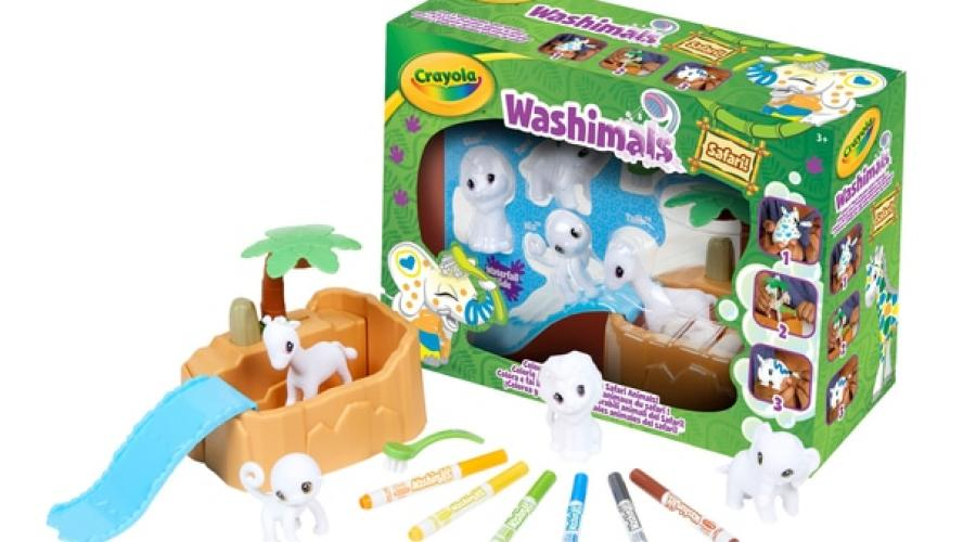 Gagnez un coffret Washimals safari de Crayola