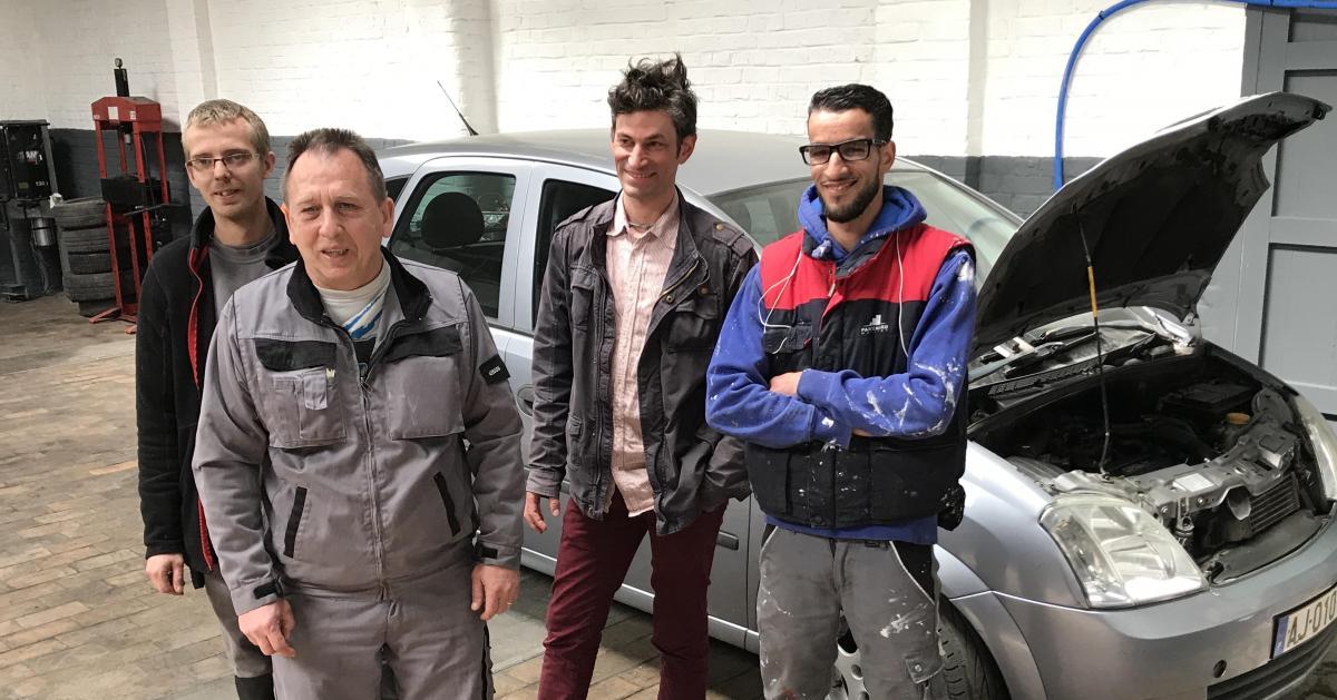 Un garage solidaire pour ceux qui gal rent tourcoing on d panne votre voiture faible co t - Garage audi belgique mouscron ...