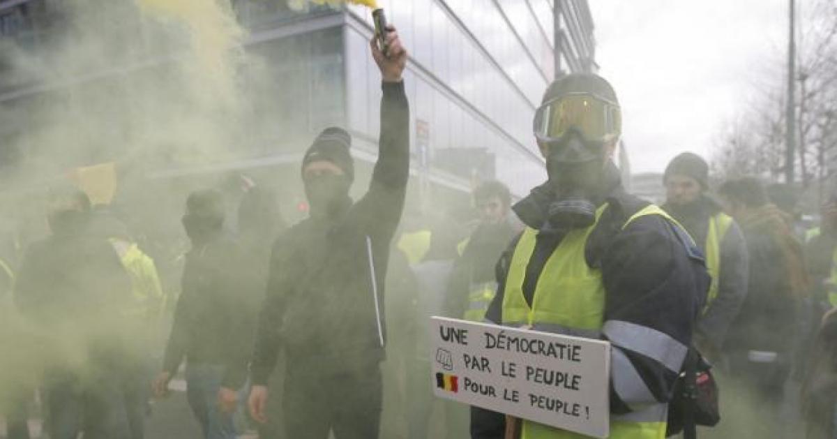 Frank, gilet jaune liégeois arrêté samedi 8 décembre, raconte sa mésaventure dans la capitale: «T'as rien à foutre à Bruxelles, casse toi à Liège