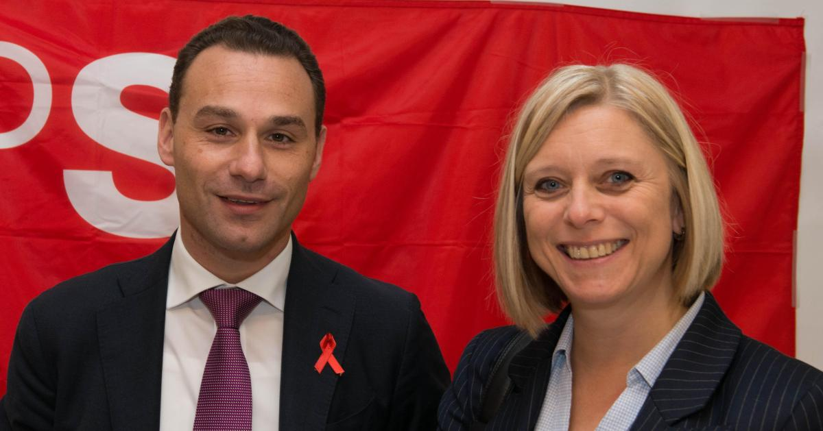 Le PS a tranché pour ses têtes de liste à Namur: Eliane Tillieux candidate à la Chambre, Jean-Charles Luperto au Parlement wallon