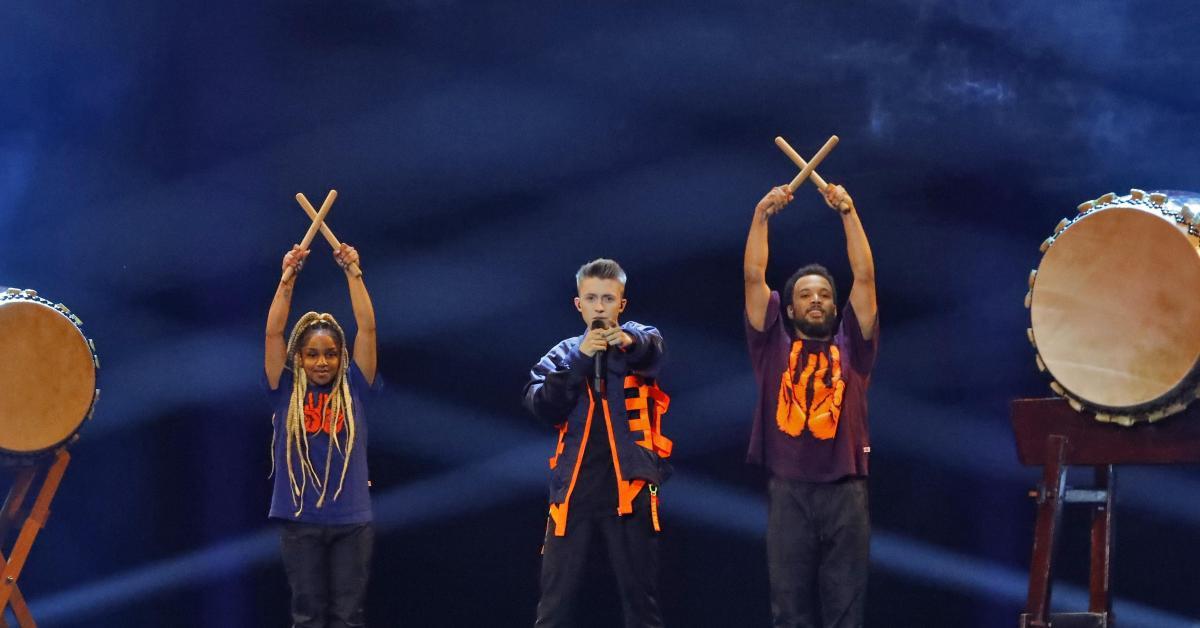 Image result for eliot belgium eurovision