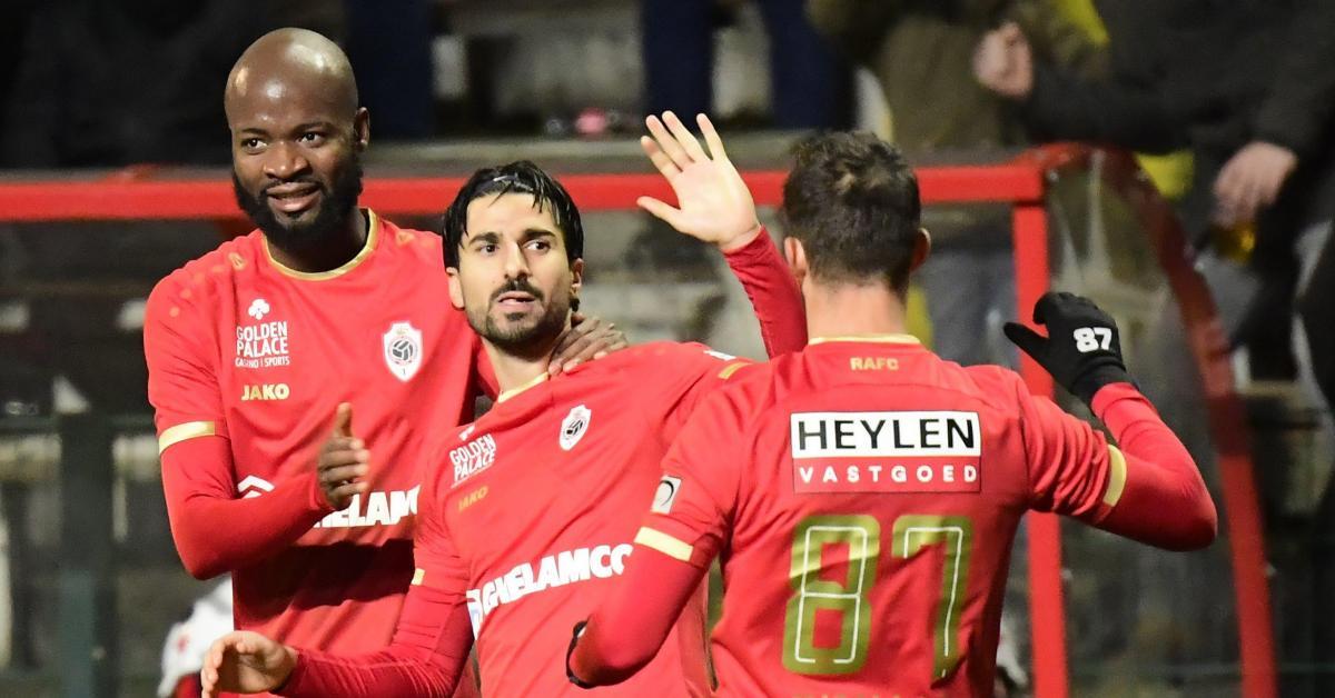 Un coup franc de Lior Refaelov permet à l'Antwerp de battre Eupen (1-0)