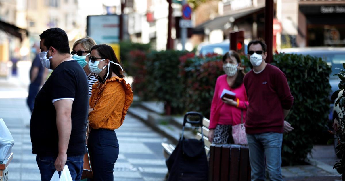 Déconfinement en Belgique: impossible de fournir un masque à ...