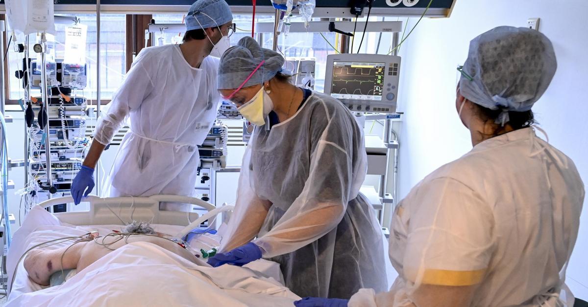 Coronavirus: en moyenne 125 hospitalisations par jour pour le Covid-19 en Belgique - Sudinfo.be