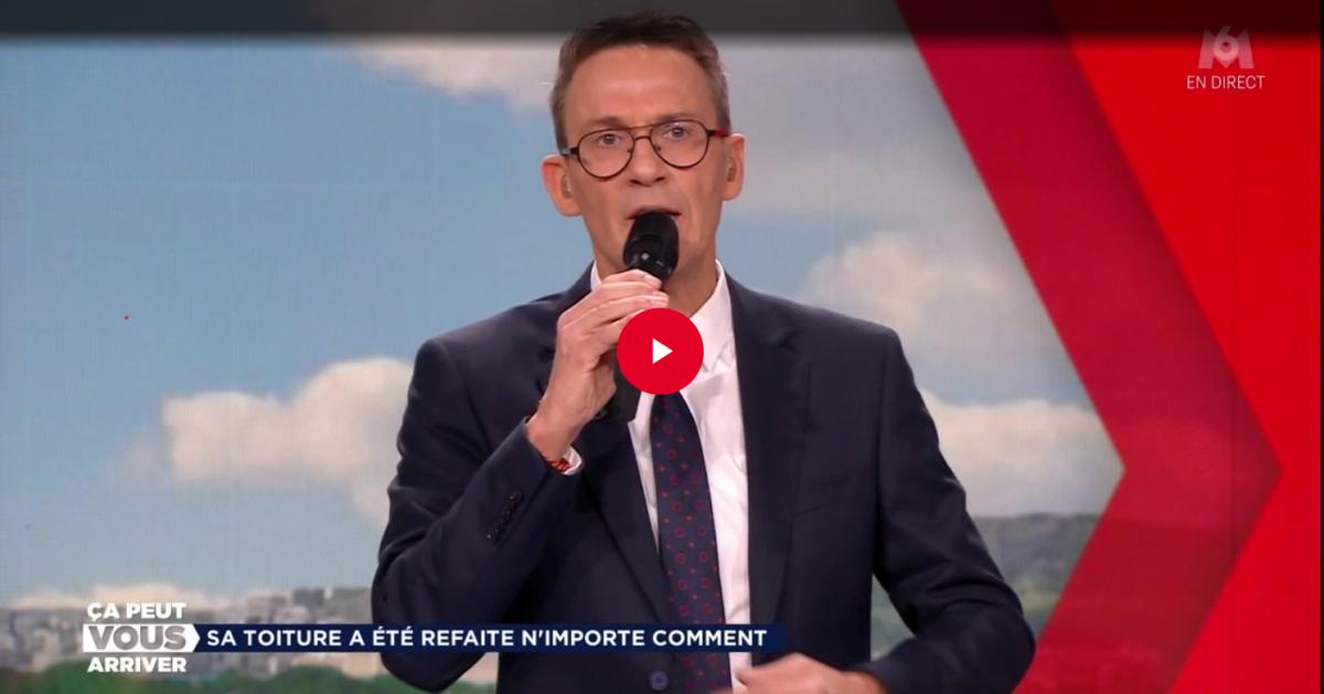 Clash sur le plateau de «Ça peut vous arriver», le présentateur Julien Courbet se fait insulter de «menteur de me***» (vidéo) - Sudinfo.be