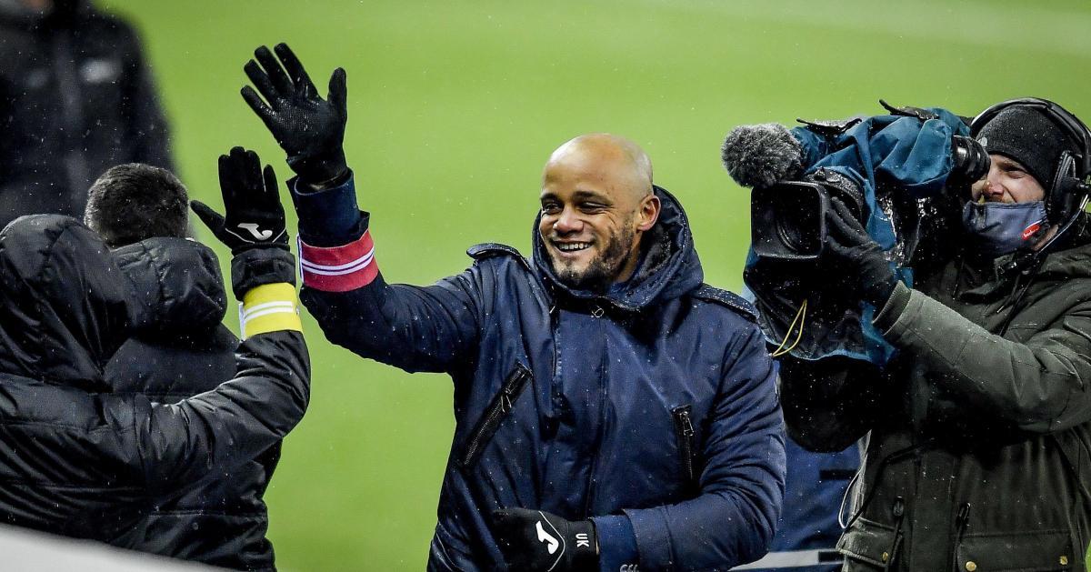 Vincent Kompany après la victoire d'Anderlecht à Genk: «Content du résultat mais je reste calme» - Sudinfo.be