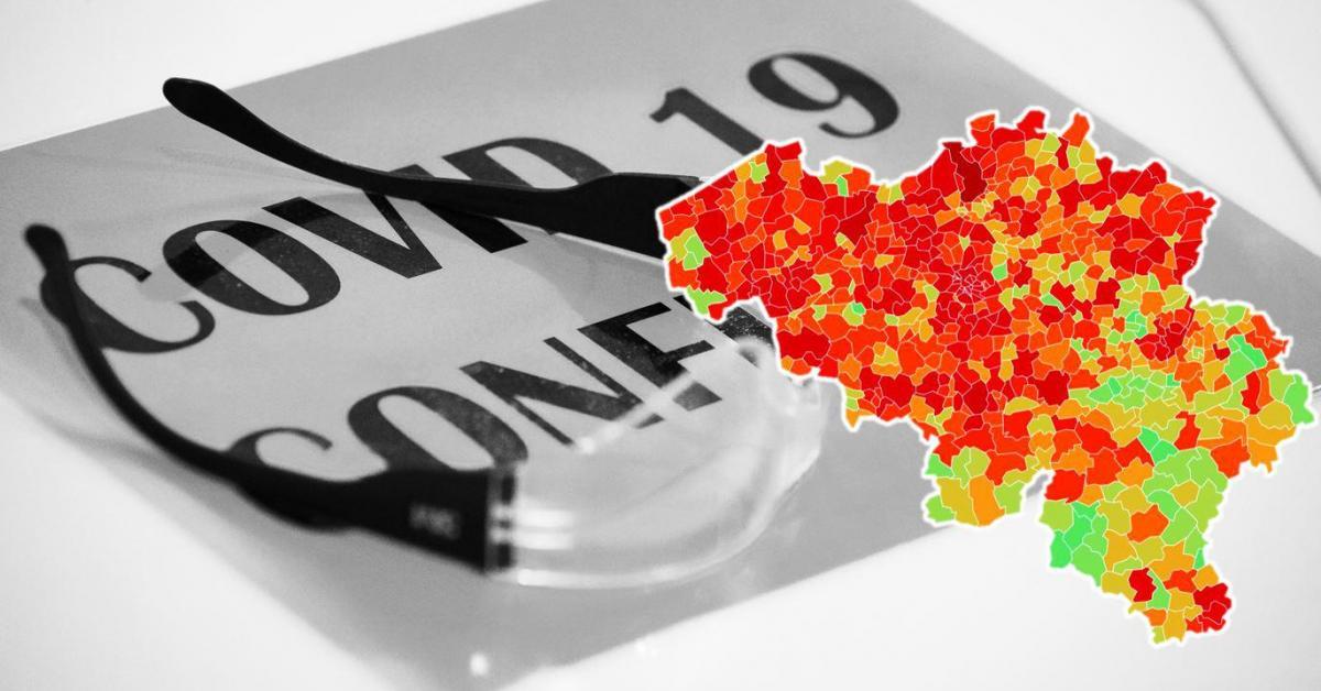 Le nombre moyen d'infections au coronavirus encore légèrement en hausse: voici les cas et l'incidence dans votre commune ce lundi - Sudinfo.be