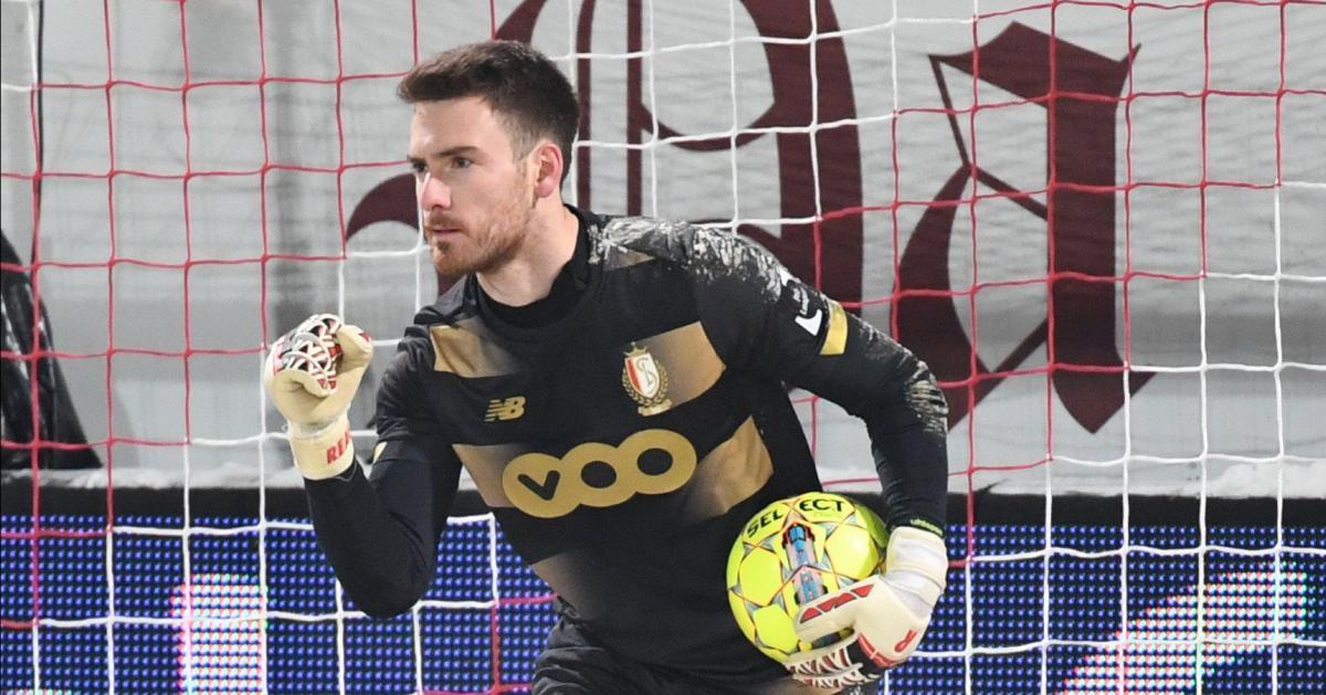 Laurent Henkinet (Standard) avait-il un pied sur la ligne lors du dernier tir au but de Courtrai en Coupe? La photo qui met tout le monde d'accord - Sudinfo.be