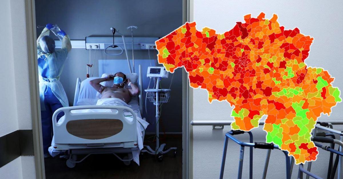 Le nombre moyen d'infections au coronavirus légèrement en baisse: voici les cas et l'incidence dans votre commune ce mercredi - Sudinfo.be