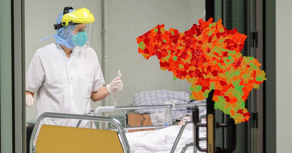 Comment évolue le coronavirus près de chez vous? Voici la situation épidémiologique dans votre commune ce samedi - Sudinfo.be