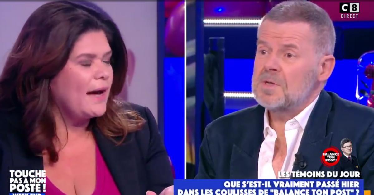 «Ça va très mal se passer»: grosses tensions dans TPMP, Eric Naulleau s'écharpe avec Raquel Garrido (vidéo) - Sudinfo.be