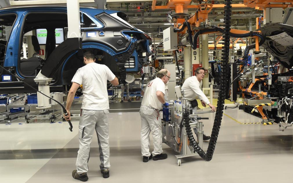 Faute de composants, la production d'Audi Brussels sera à l'arrêt la semaine prochaine - Sudinfo.be