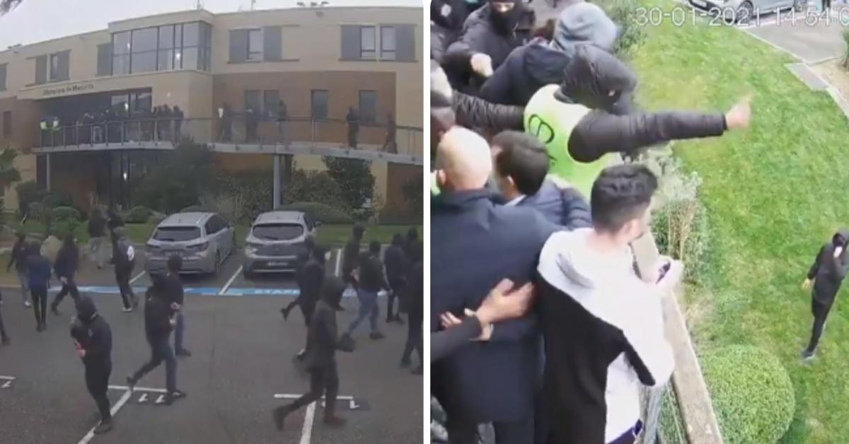 Des supporters de l'OM pénètrent dans le centre d'entraînement du club: l'émission «Quotidien» dévoile des images inédites des incidents (vidéo) - Sudinfo.be