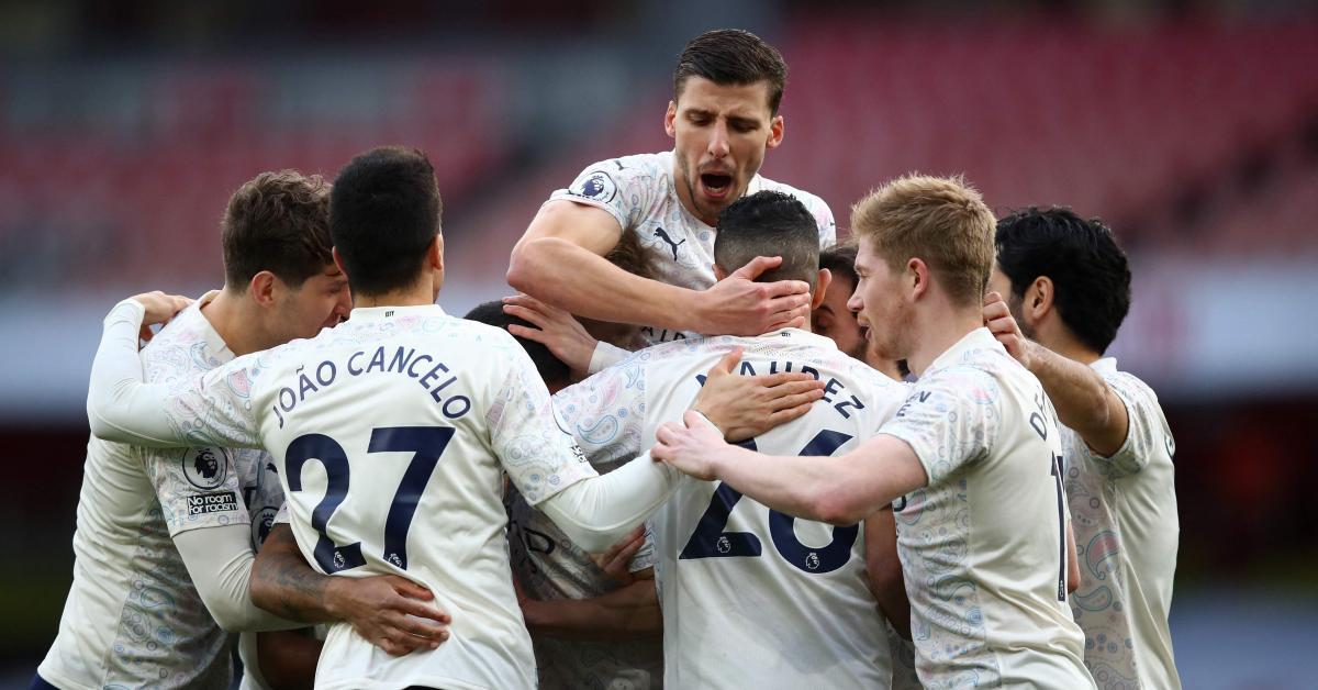 Manchester City a-t-il assomé la Premier League? Le club de Kevin De Bruyne s'envole en tête du classement après sa victoire à Arsenal! - Sudinfo.be