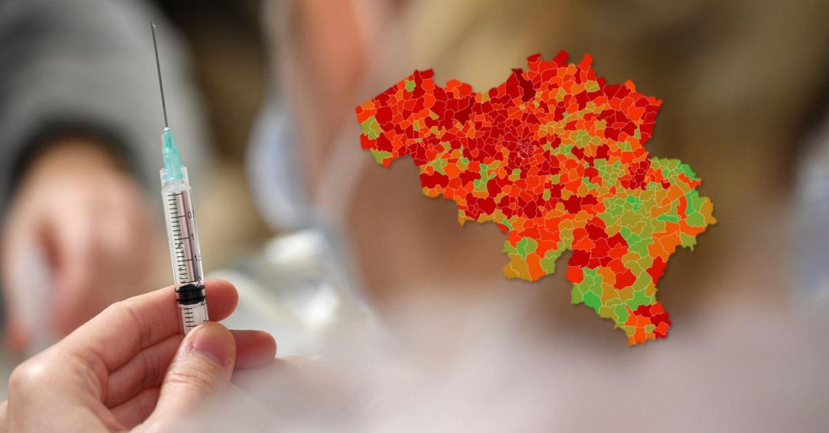 Coronavirus en Belgique: voici le nombre de cas et l'incidence dans votre commune ce lundi 22 février - Sudinfo.be