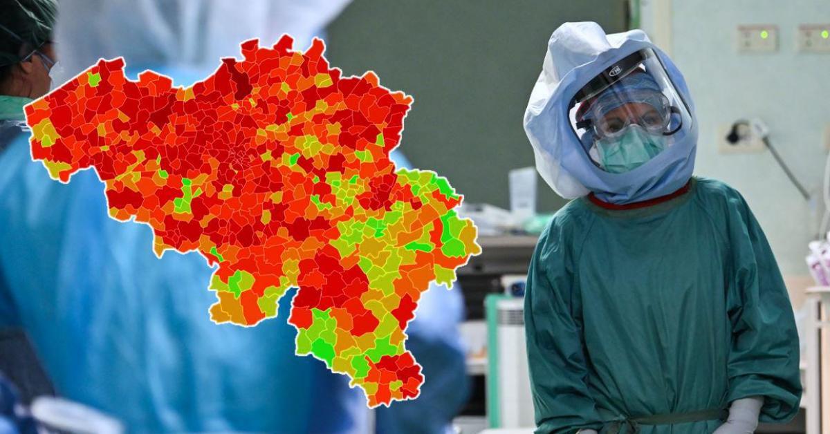 Le nombre de nouvelles contaminations au Covid-19 repart à la hausse: voici le nombre de cas et l'incidence dans votre commune ce mardi - Sudinfo.be