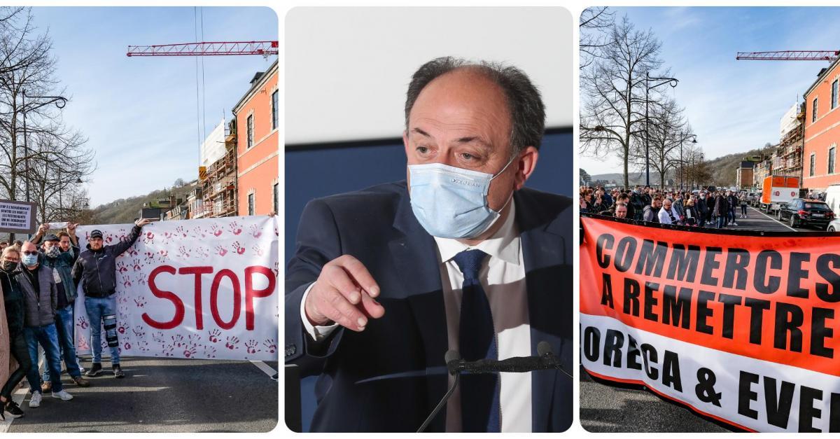 L'horeca rencontre Willy Borsus à Namur: «Il nous a promis de tout faire pour une réouverture le 21 mars» - Sudinfo.be
