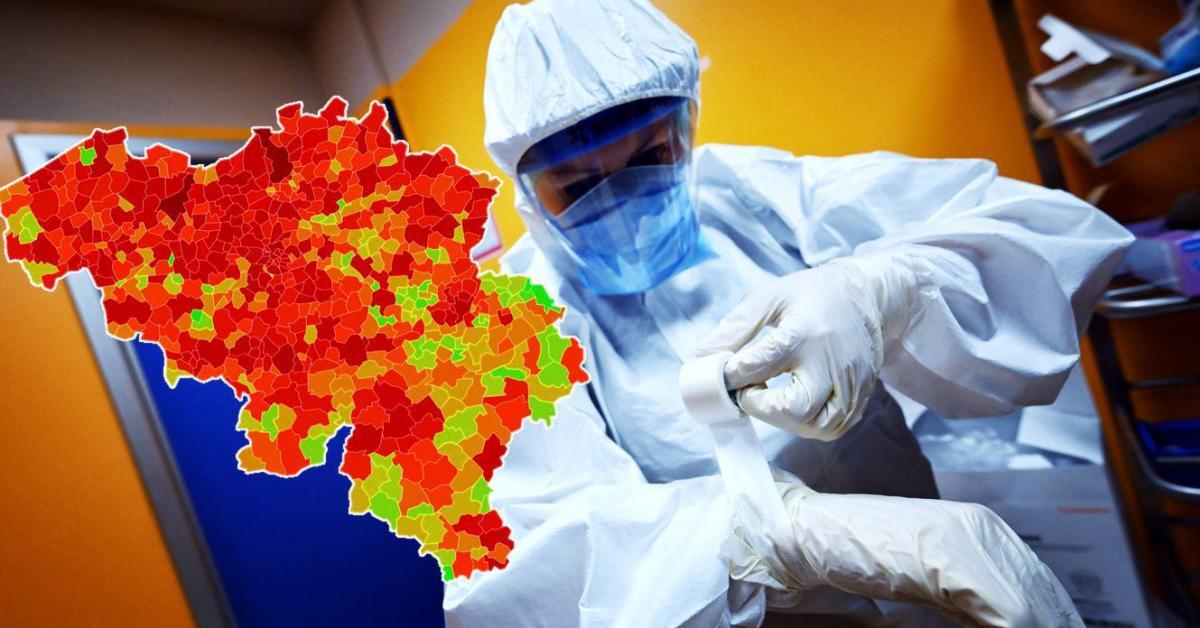 Les nouvelles contaminations au Covid-19 toujours en hausse: voici le nombre de cas et l'incidence dans votre commune ce vendredi - Sudinfo.be