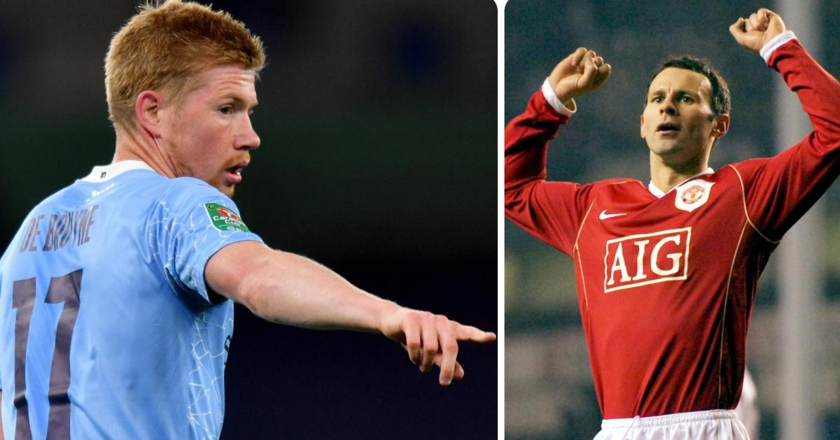 Kevin De Bruyne peut-il aller chercher Ryan Giggs à la première place des meilleurs passeurs de l'histoire de la Premier League? - Sudinfo.be
