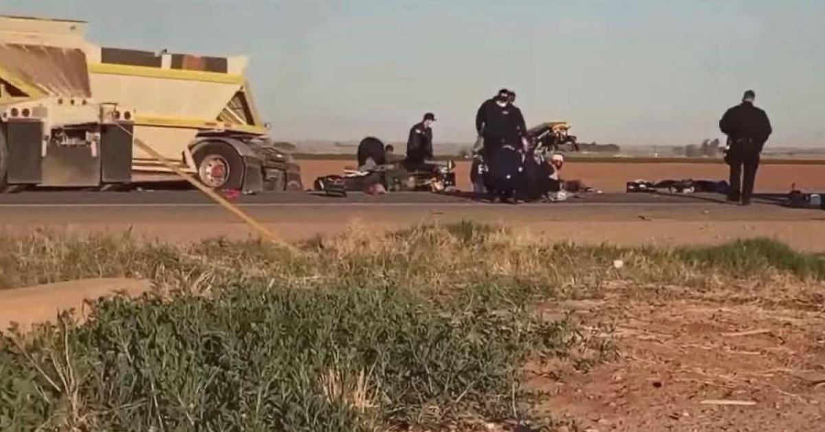 Au moins 12 morts dans une collision entre un véhicule surchargé et un camion en Californie: «Il y avait 25 personnes dans le Ford Expedition» - Sudinfo.be