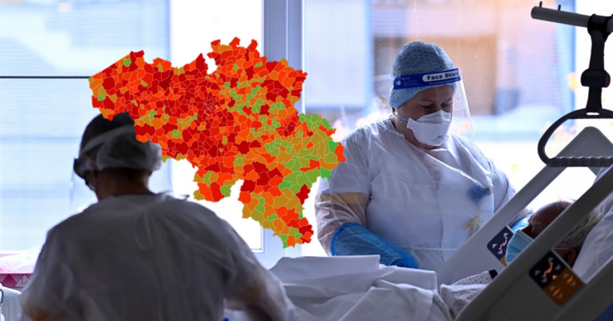 Les chiffres du coronavirus sont-ils aussi en hausse dans votre commune? Voici la situation épidémiologique près de chez vous ce mercredi 3 mars - Sudinfo.be