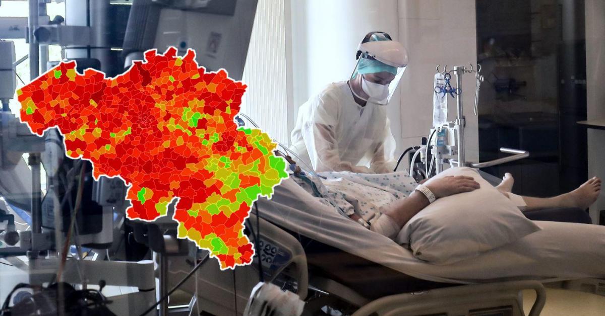Plus de 2.500 nouvelles contaminations Covid en moyenne par jour, en augmentation: voici le nombre de cas et l'incidence dans votre commune ce samedi - Sudinfo.be