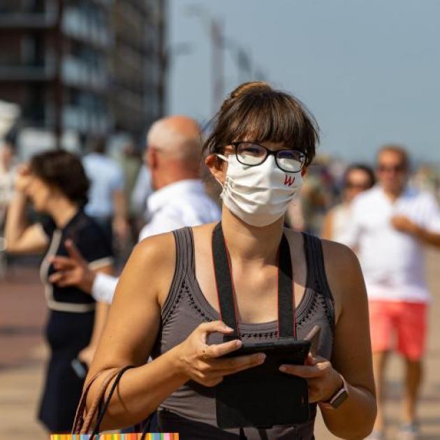 Bruxelles sera-t-elle la dernière région à pouvoir retirer le masque? Pour Yves Van Laethem, c'est une possibilité!