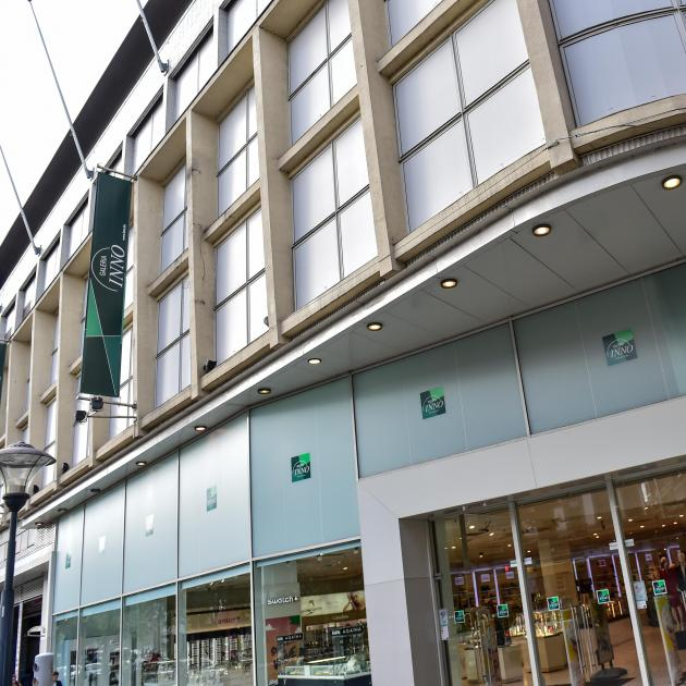 Tentative de vol manquée au magasin Inno à Liège ce samedi