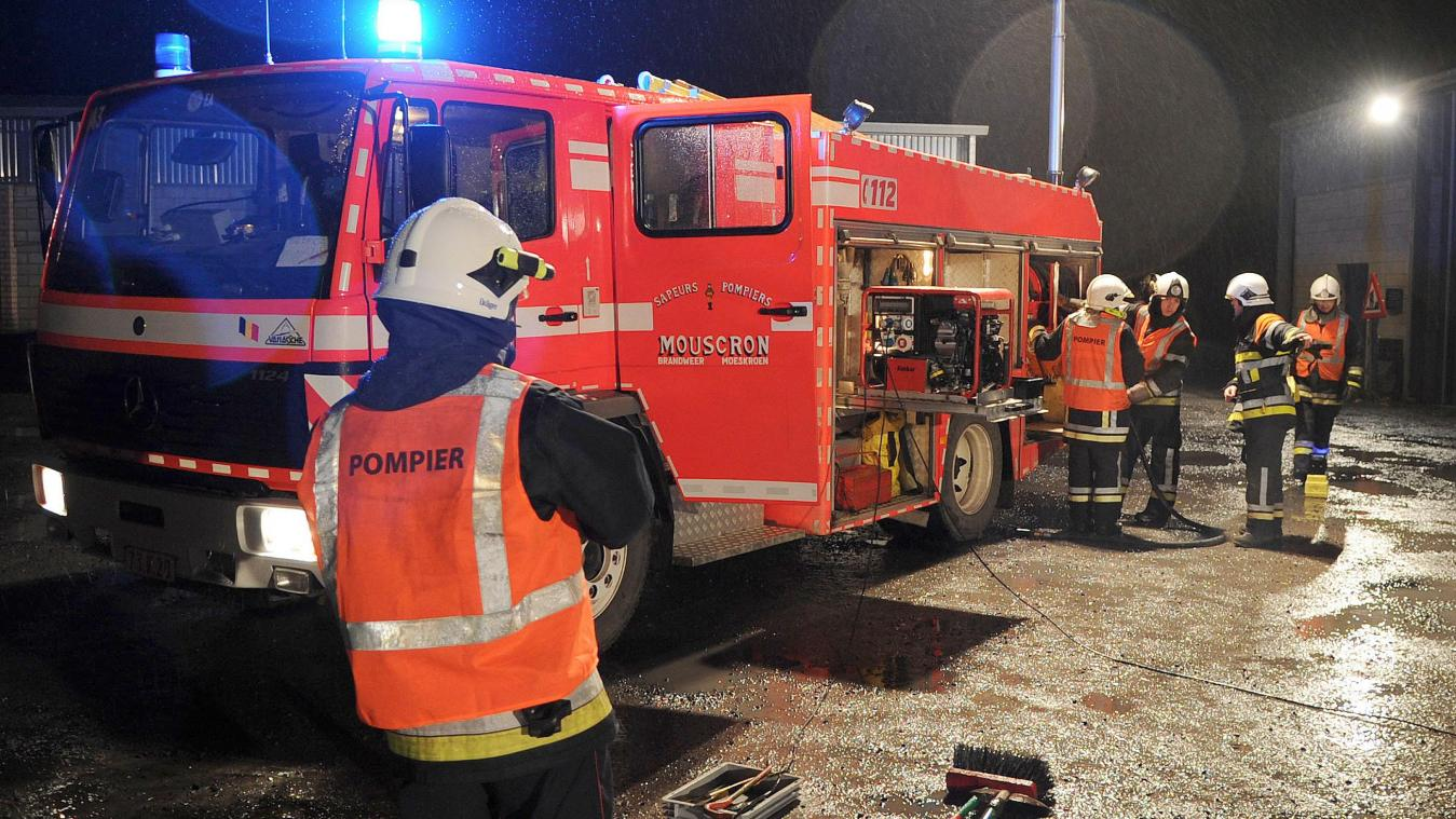 A l'avenir, les pompiers professionnels mouscronnois partiront de la future caserne d'Evregnies.