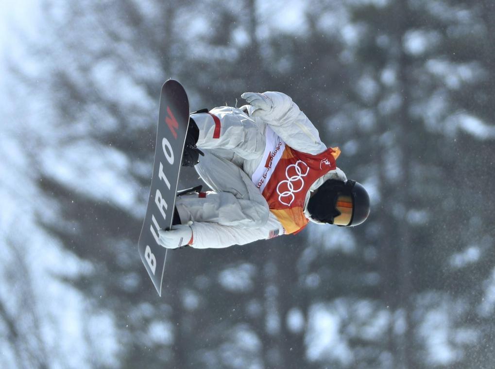 Shaun White remporte la médaille d'or au half-pipe