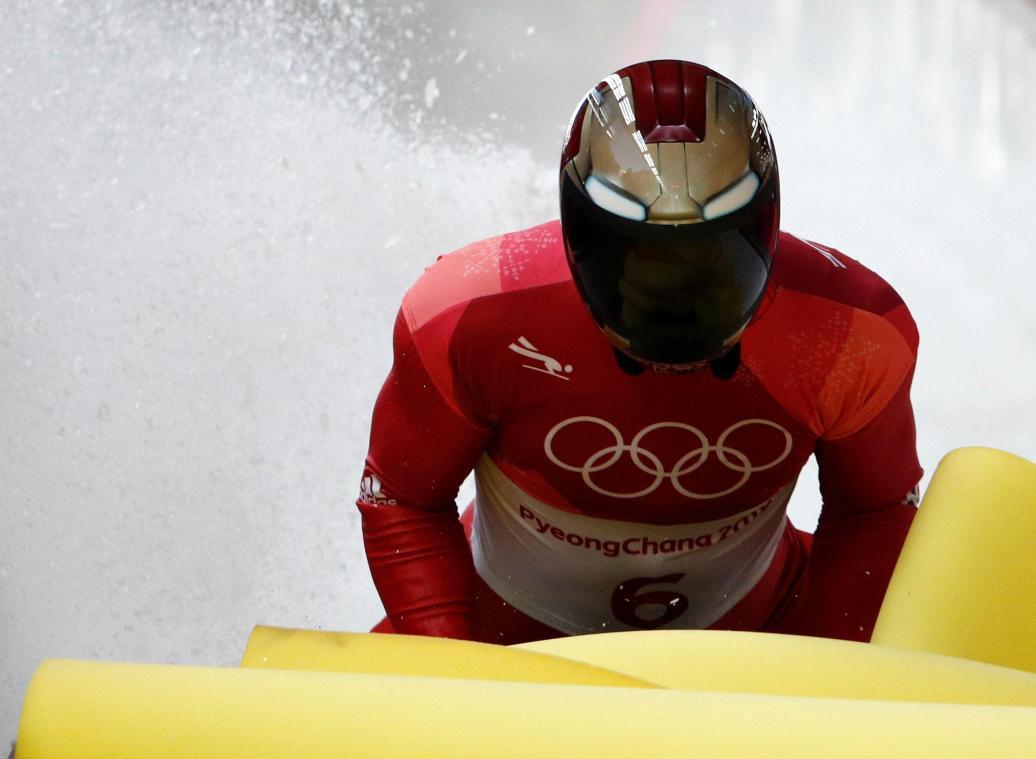 Un Sud-Coréen en tête après deux manches en skeleton — Olympiques