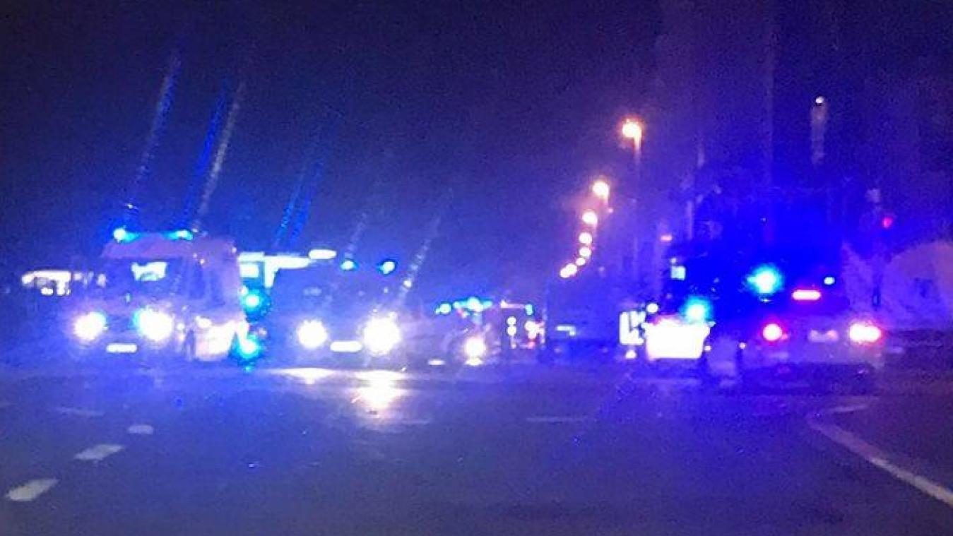 Incendie à Molenbeek: deux squatteurs étaient sur place