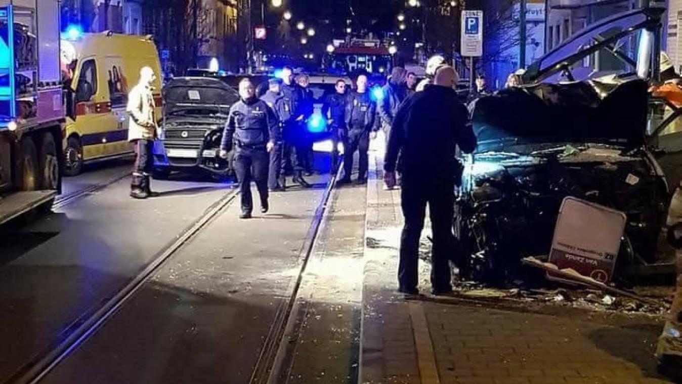 Le risque de propagation écarté, une personne intoxiquée — Incendie à Molenbeek