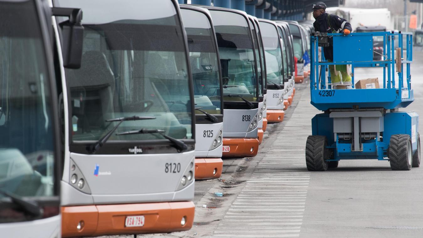 Grève à la Stib: la ligne de métro 1 circule