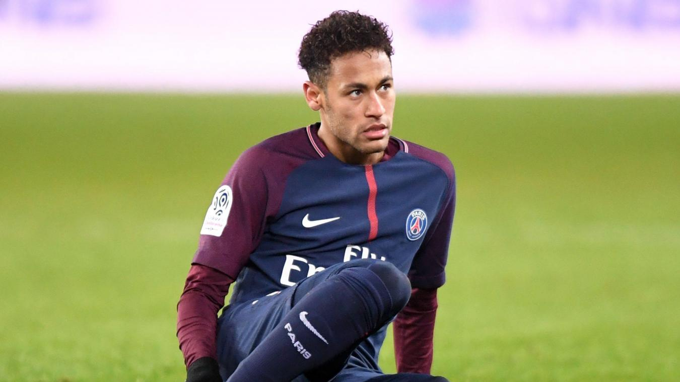 Thierry Henry tacle Neymar — PSG