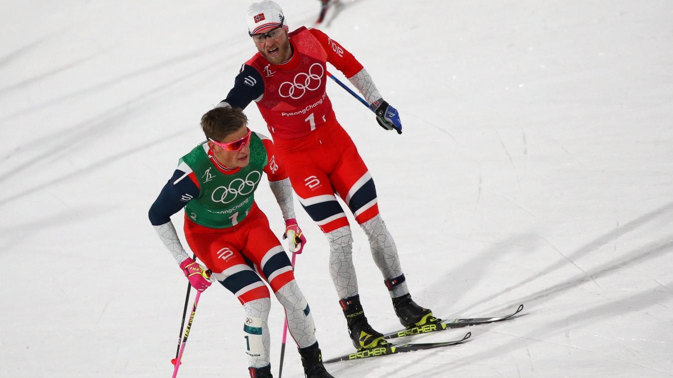 Le Canada en finale au sprint par équipe — Olympiques