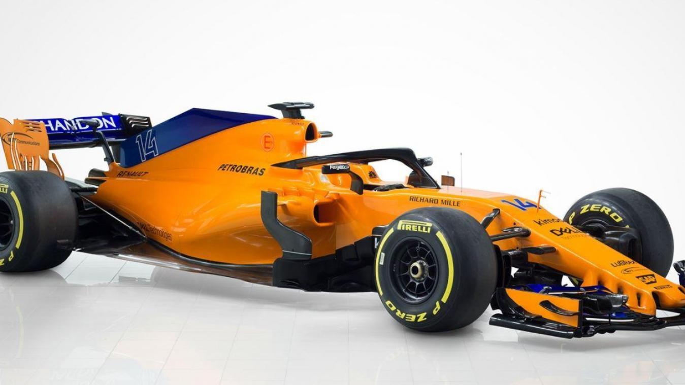 Formule 1 : McLaren présente sa nouvelle monoplace, la MCL33