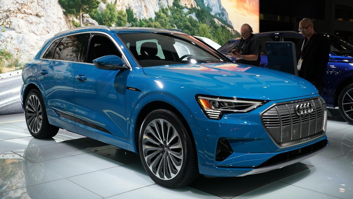 La Chine produira également des Audi e-tron, comme celles assemblées à Bruxelles