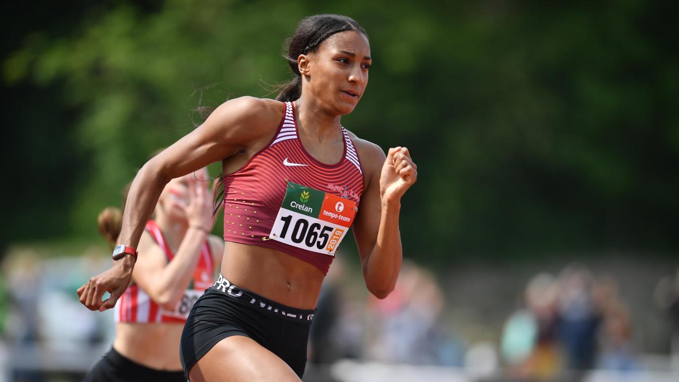 Athlétisme: Nafissatou Thiam reprend en force