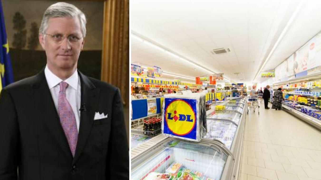 Monarchie : La pub Lidl qui ne fera certainement pas rire le roi Philippe: «Aucun écho de l'entourage de la
