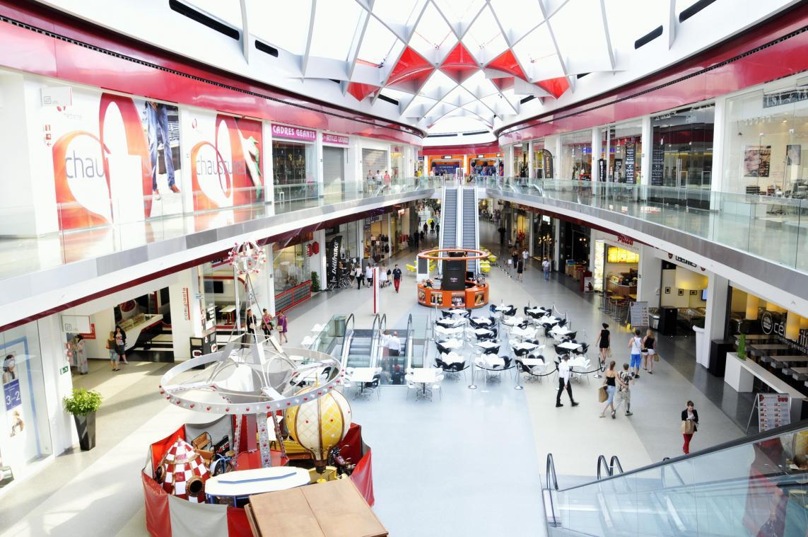 Légère hausse de fréquentation des centres commerciaux liégeois