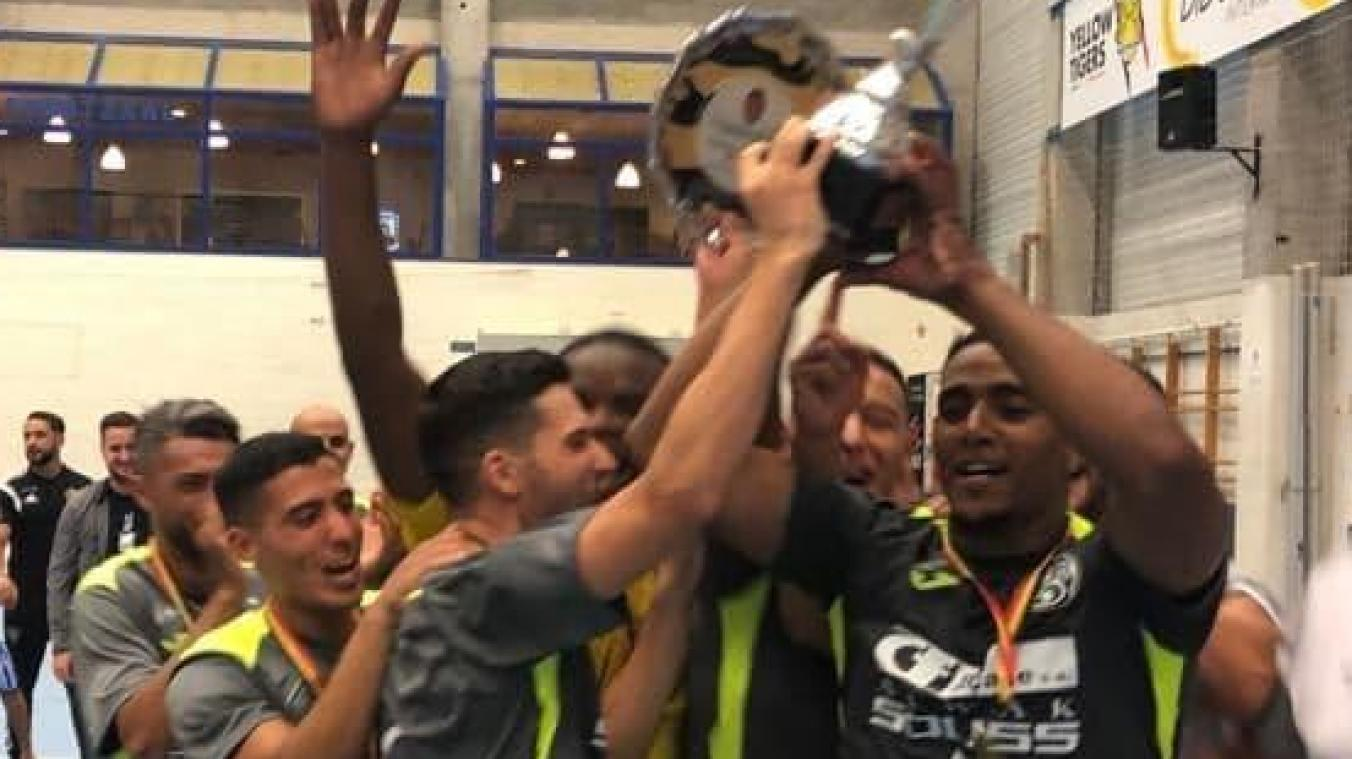 Futsal: l'AS Schaerbeek réalise le doublé en remportant la Supercoupe de Belgique