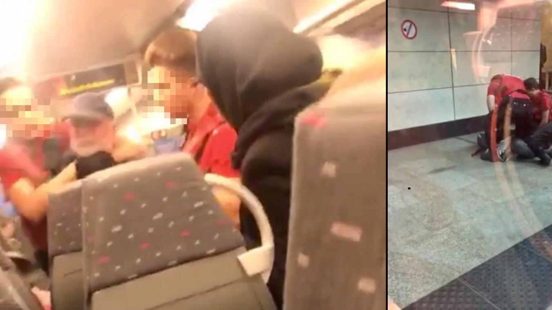 Securail – Bruxelles : Une personne âgée violemment interpellée dans un train à Bruxelles: «Il n'arrivait