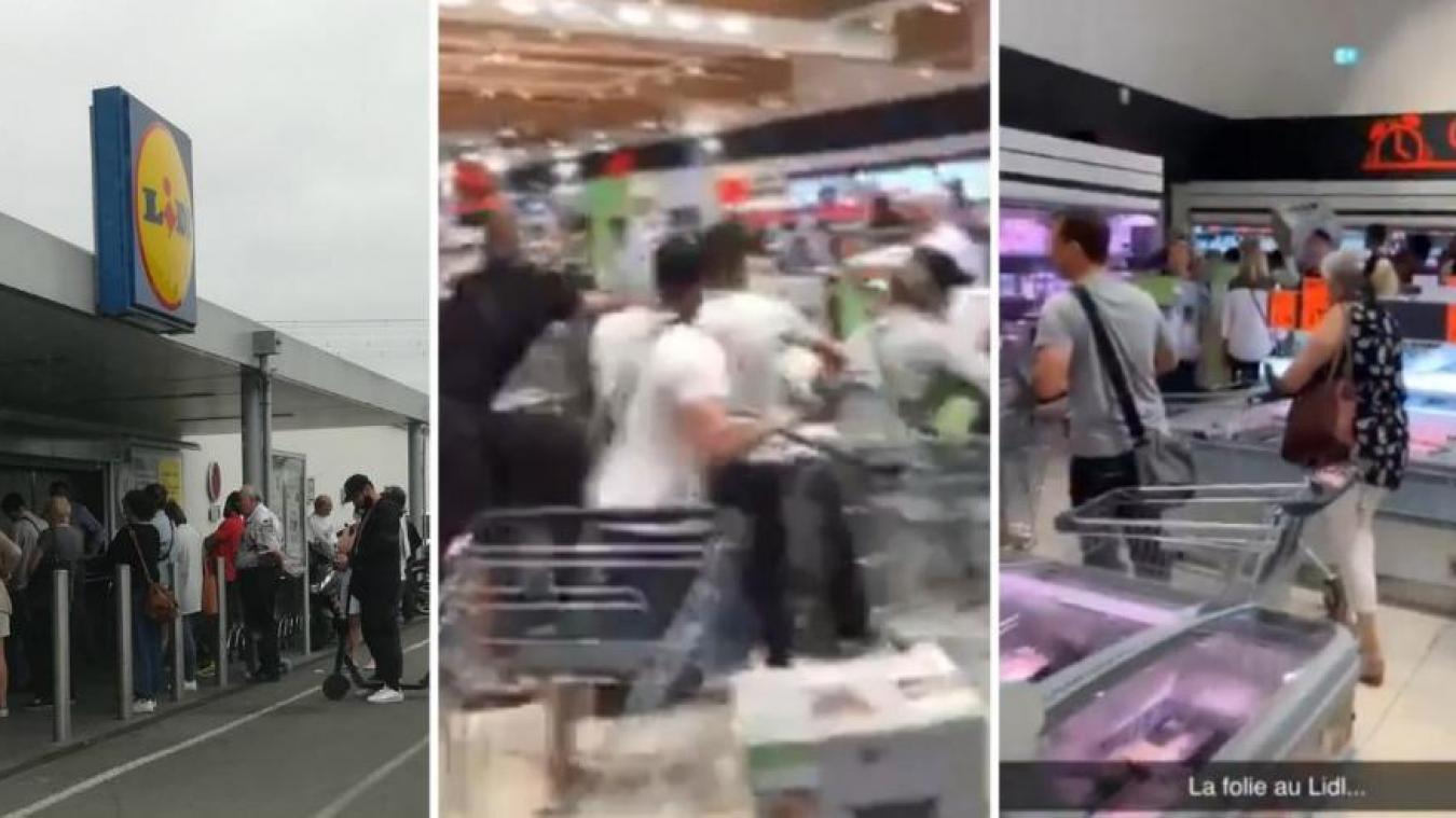LIDL: de nouvelles scènes de cohue attendues dans les prochaines semaines en France puis en Belgique? (vidéo)