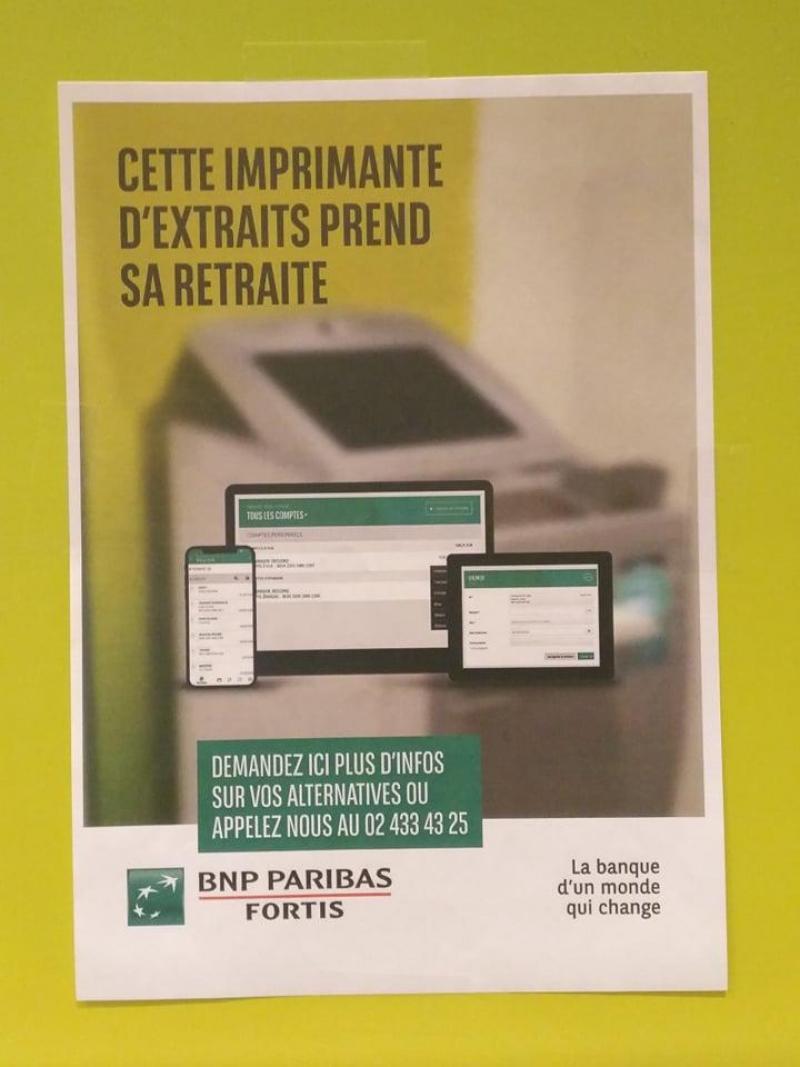 Carte Bancaire Fortis.Gros Changement Chez Bnp Paribas Fortis La Banque Supprime Ses