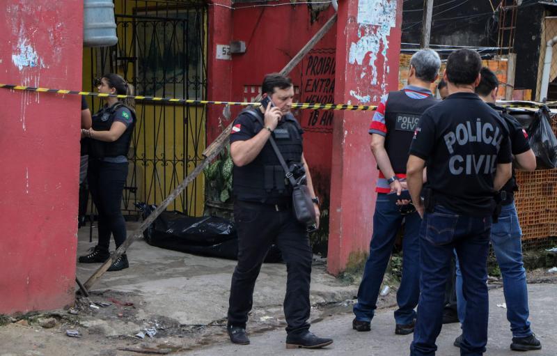 Onze personnes tuées par balles dans un bar du nord du Brésil