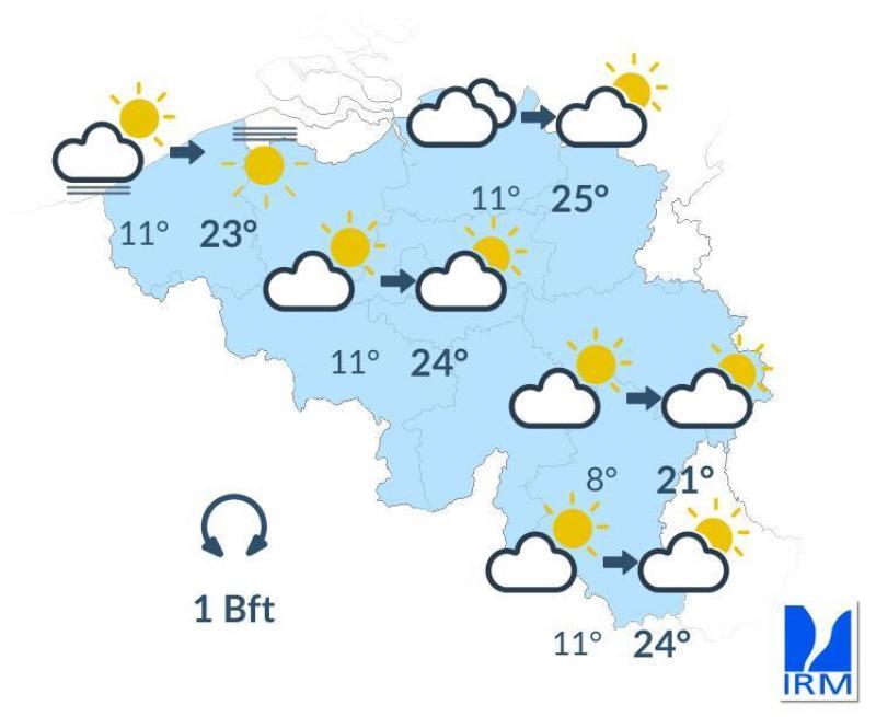 Chaud, plus chaud, encore plus chaud: la météo dans votre région