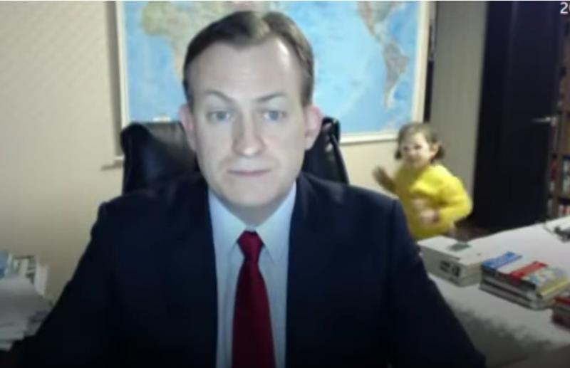 [Vidéo] Quand un enfant débarque en direct sur le plateau de MSNBC