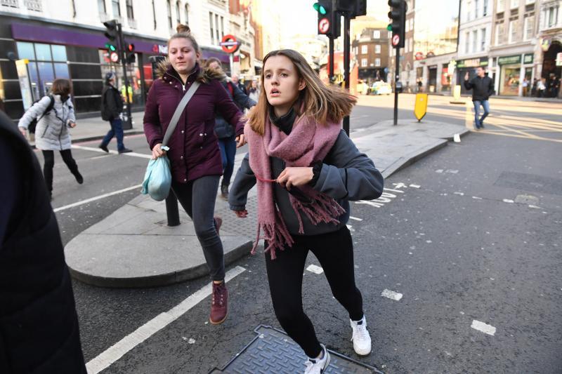 Le suspect a été abattu — Attaque à Londres